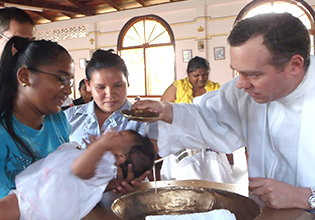 Baptism in Charity, Guyana